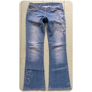 LUCKY BRAND BoHo Lil' Maggie Jeans Size 6/28